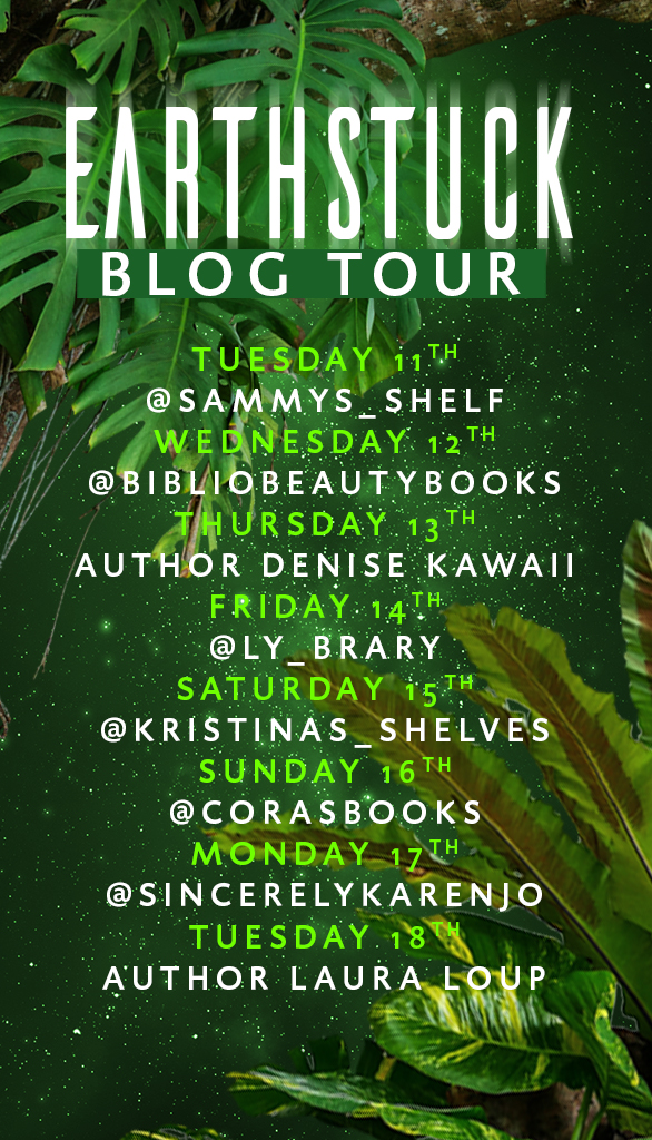 Earthstuck Blog Tour List Stories